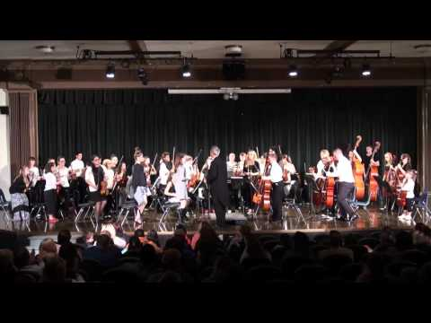Robidoux Middle School and Lafayette High School Northside Winter Orchestra Concert