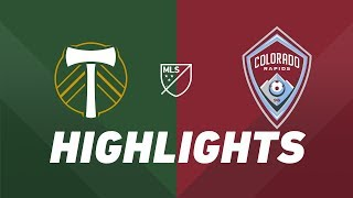 Portland Timbers vs. Colorado Rapids | HIGHLIGHTS - July 13, 2019