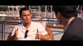 The Best Scene in Wolf of Wall Street - The Boat Scene