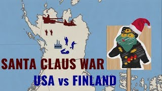 Santa Claus war (USA vs Finland)