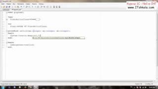 №6 PascalABC NET Объектно ориентированное программирование Часть 2 Веб дизайн обучение Курс