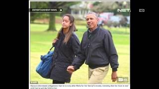 Putri sulung Barack Obama dilamar dengan mahar 150 hewan