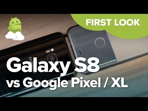Samsung Galaxy S8 vs. Google Pixel — First Look Comparison!