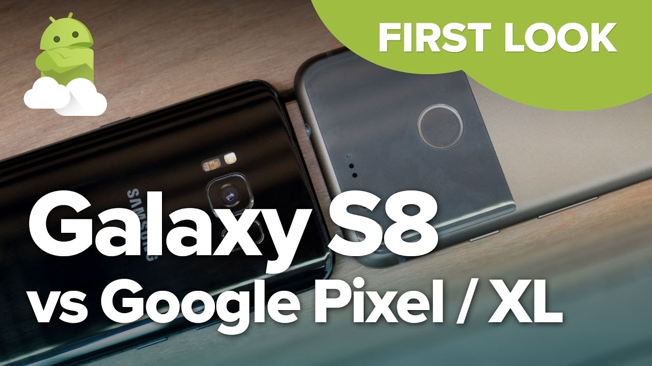 Phone Comparisons: Samsung Galaxy S8 vs Google Pixel XL vs LG G6 vs HTC U11