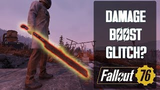 Fallout 76 - Weapon Damage Boosting Technique. Is it intended or a glitch/bug/exploit?