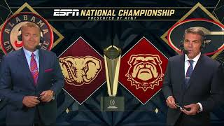 NCAAF 2017 CFP 2017 CFP National Championship Alabama vs Georgia