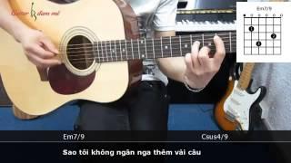 Dạy Học Guitar] [Đệm Hát] [Điệu Rock Ballad]   Yên Bình   Triệu Hoàng