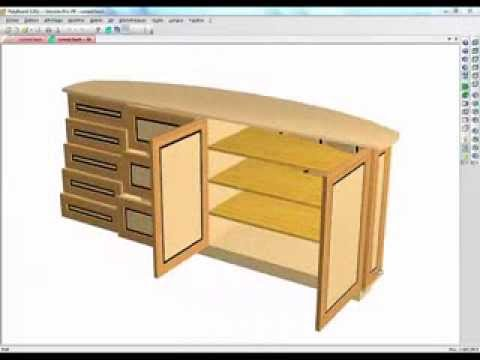 How to design Curved Backed Furniture with Polyboard Cabinet ...