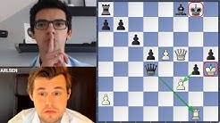 Weltmeister zum Schweigen gebracht || Carlsen vs. Giri MCI 2020