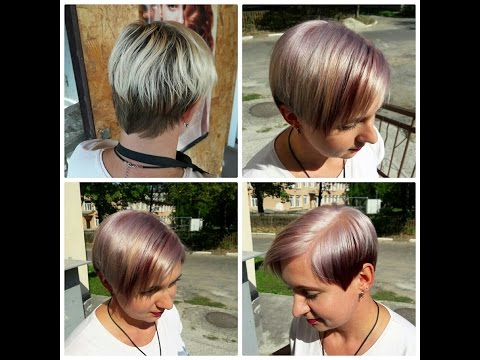 Модные техники окрашивания волос