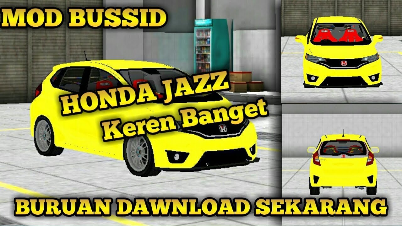 7700 Mod Bussid Mobil Jazz Racing Terbaru