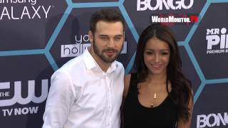 Ryan Guzman, Melanie Iglesias Arrive at 16th Annual Young Hollywood Awards