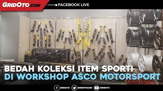 Bedah Koleksi Item Sporti di Workshop ASCO Motorsport