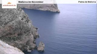 Mallorca im November, Palma de Mallorca, Mallorca, Spanien