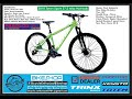 2018 Totem Spark Built Bike 27.5, 29 Alloy Hydraulic Shimano Parts 8spd MTB Bicycle