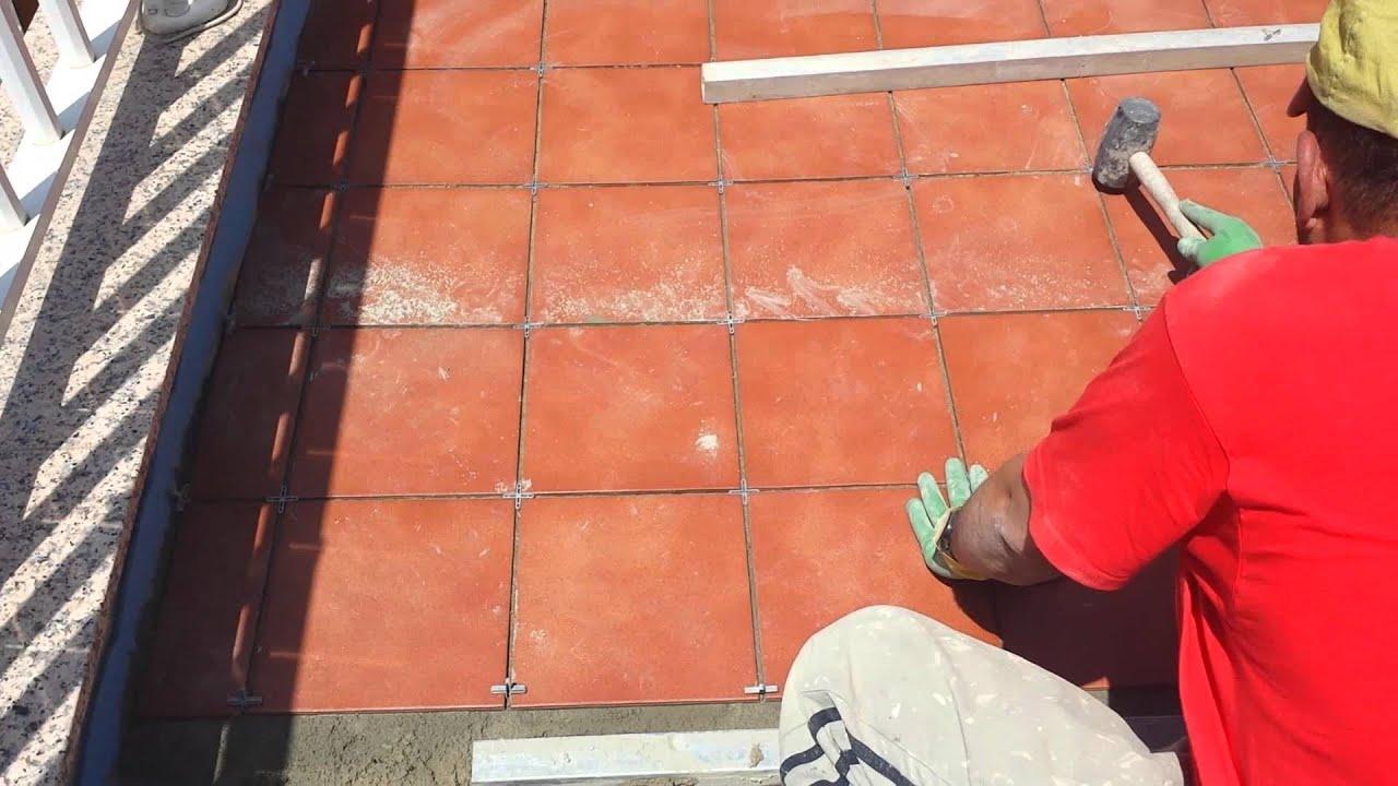 Colocaci n pavimento terraza sistema imperfy youtube - Pavimentos para terrazas ...