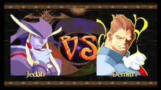 Darkstalkers 3 - Jedah Arcade Mode