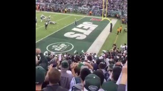 Jets vs Patriots: fan reaction