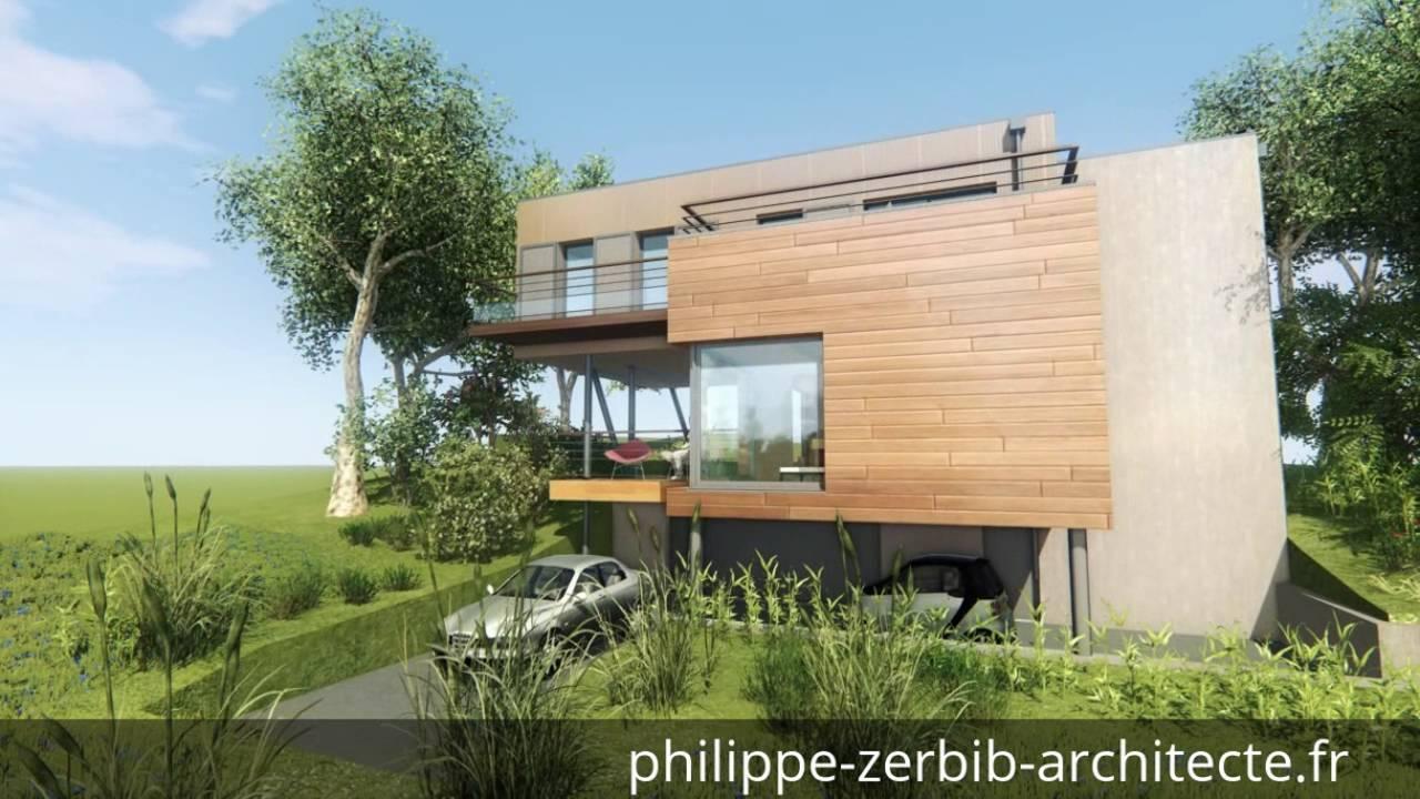 Prise de vue 3d maison ossature bois philippe zerbib for Architecte 3d bois