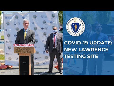 COVID-19 Update: New Lawrence Testing Site