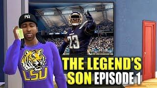 NCAA FOOTBALL 20 STORY: The Legend's Son Ep. 1 (High School Kid)