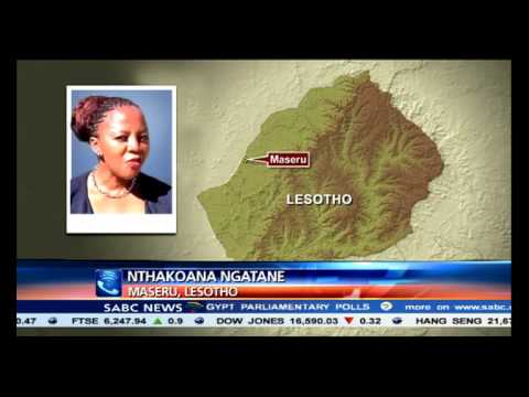 Maaparankoe Mahao drew his gun before he was shot: Lesotho Defence Force