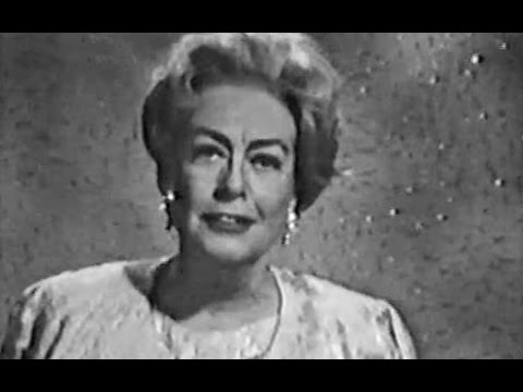"Joan Crawford Narrates ""Garbo"" 