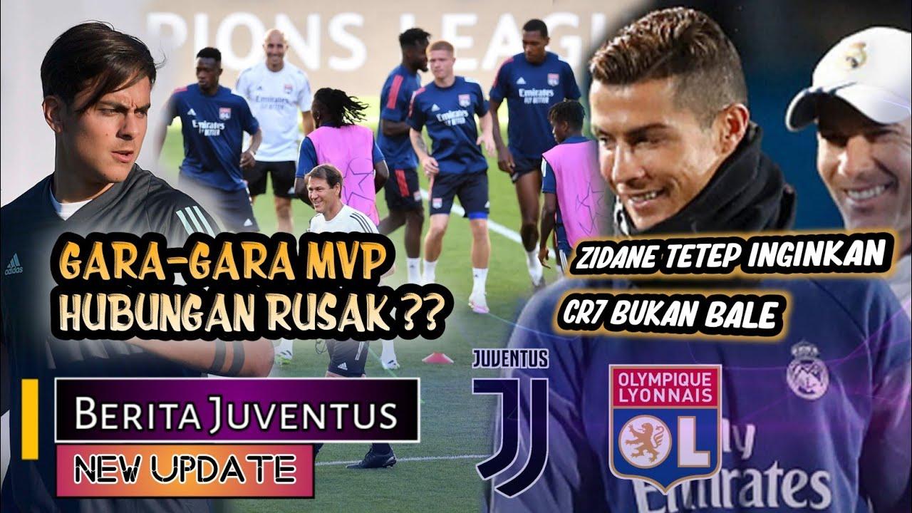 Hubungan CR7 DYBALA RUSAK ?🤔Persiapan Juve Lyon💪Zidane ingin Ronaldo BALIK📝 BERITA JUVENTUS 🔴