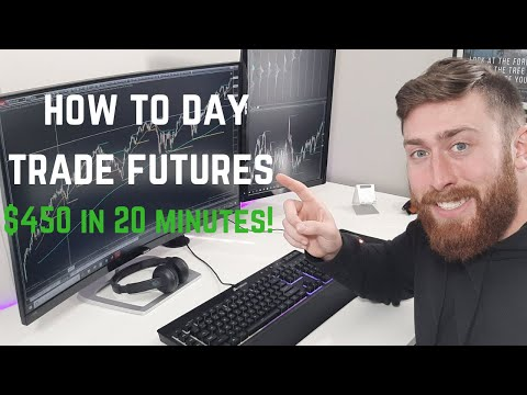 HOW TO DAY TRADE E-MINI S&P 500 FUTURES (ES) $450 IN UNDER 20 MINUTES!!