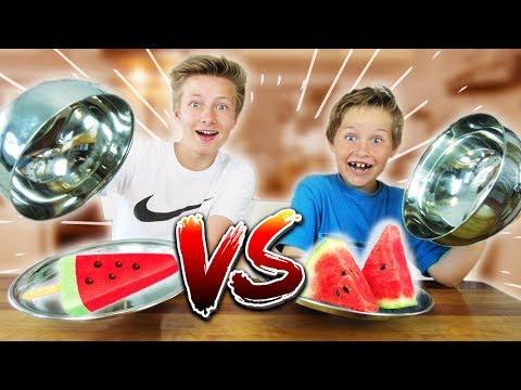 REAL FOOD vs. ICE FOOD - Unerwartetes Ergebnis?! TipTapTube