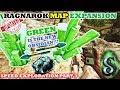 RAGNAROK - GREEN OBSIDIAN CRYSTALS !!! - SECRET SHIPWRECKS E3 - NEW WYVERN CLIFFS - ARK PATCH 265