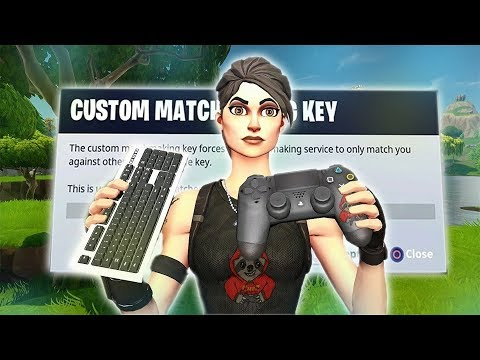 custom matchmaking key is not supported