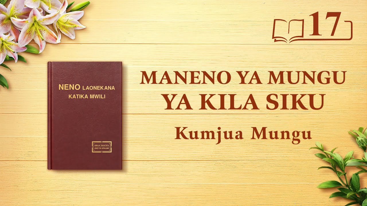 Maneno ya Mungu ya Kila Siku | Namna ya Kujua Tabia ya Mungu na Matokeo Ambayo Kazi Yake Itafanikisha | Dondoo 17