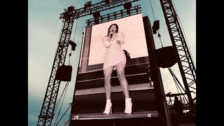 Lana Del Rey - Malahide Castle: Performs Doin Time live for the 1st time. Credit to Dominik Del Rey