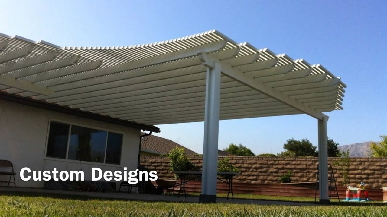 Patio Cover Los Angeles - Patio Dudes, Inc. - YouTube
