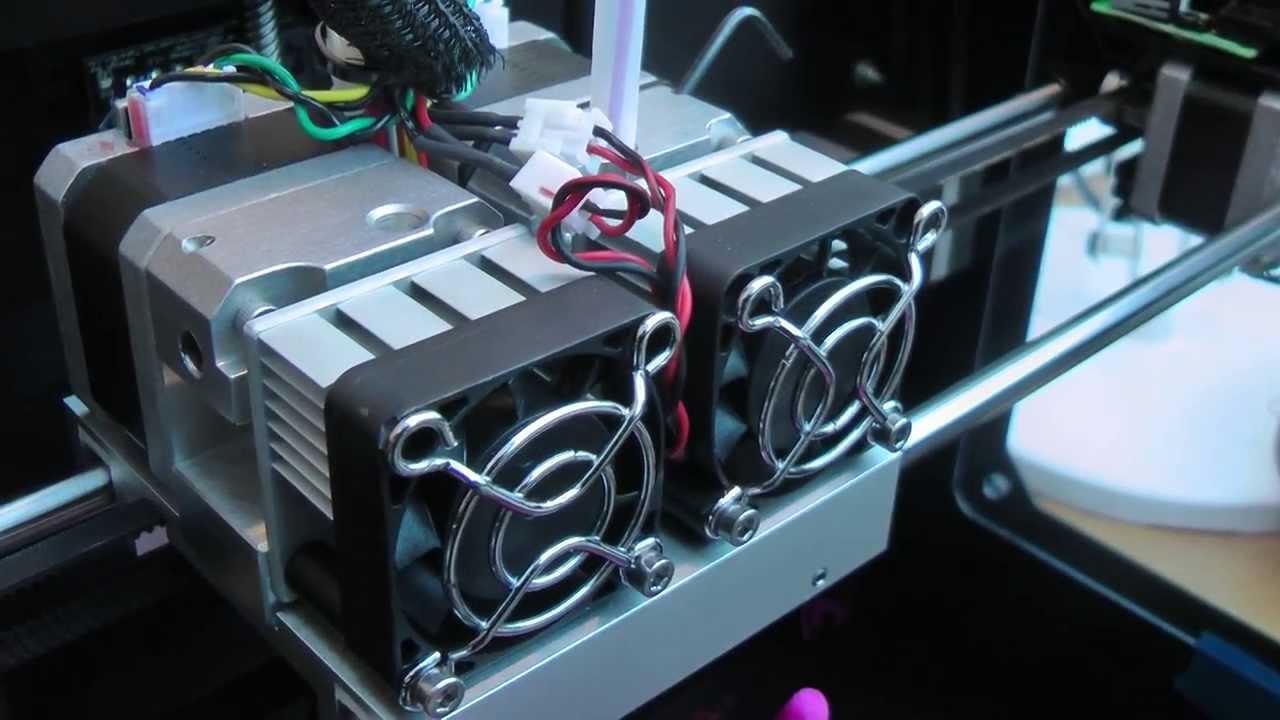 Makerbot replicator 2 extruder upgrade