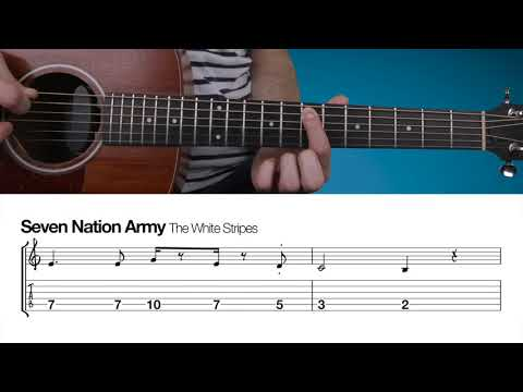Seven Nation Army | Beginners Guitar Lesson