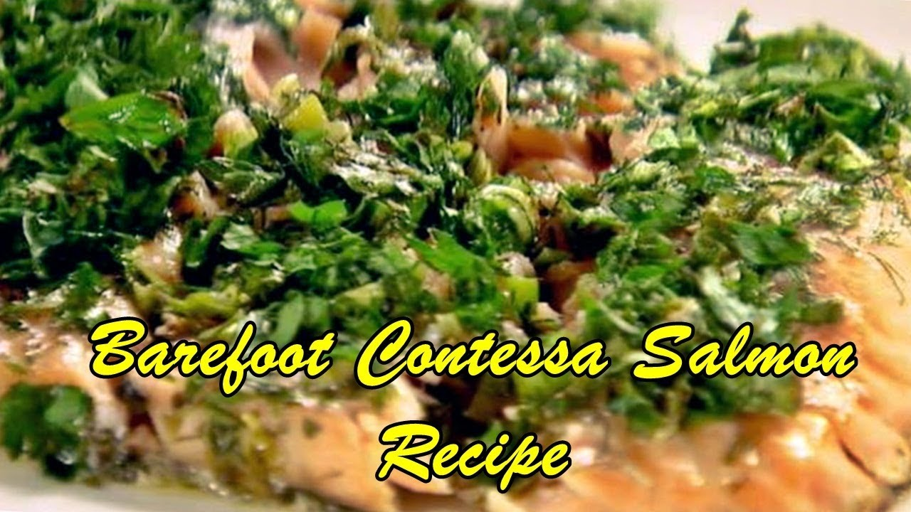 Barefoot contessa salmon recipe youtube barefoot contessa salmon recipe easy food recipes forumfinder Image collections