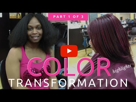 Detroit Hair Color Transformation from START to FINISH (Part 1 of 3) ~ The Highlights