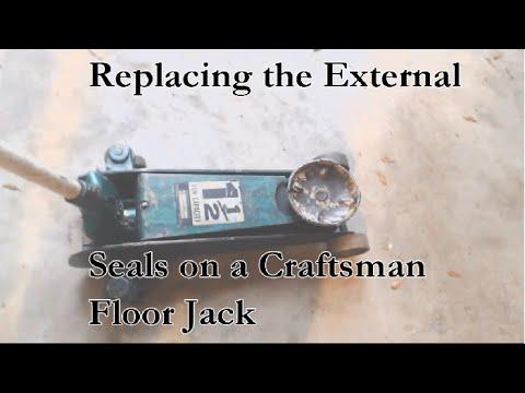 Replacing the External Seals in your Craftsman FloorJack
