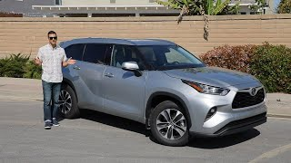 2020 Toyota Highlander Video Test Drive Review