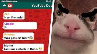 CHAPIE will die GRUPPE LÖSCHEN!!! 😱 | YouTuber in einer WhatsApp Gruppe
