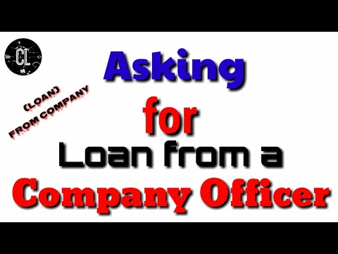 How To Write A Letter Asking For Loan From A Company Officer.