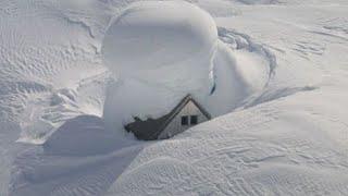 Страшные морозы и дикие снегопады. Грузию завалило снегом. Села отрезаны от внешнего мира