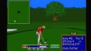 PGA Tour Golf II - Sega Genesis Gameplay