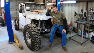 This Custom FJ45 Ultimate Rock Crawler Build Comes With Custom PROBLEMS!