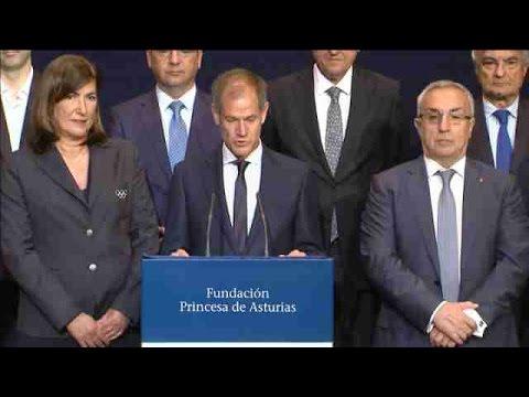 Los All Blacks, Premio Princesa de Asturias de los Deportes