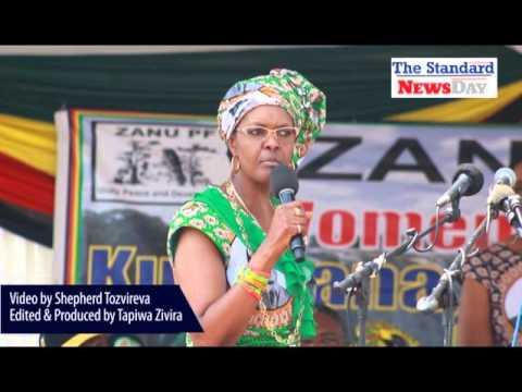 Grace Mugabe attacks Mnangagwa faction