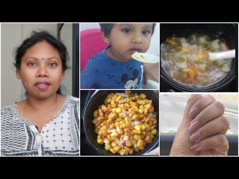Casual vlog ||Crispy Corn Recipe Barbeque Nation Style || 2pm to 9pm vlog || Sireesha