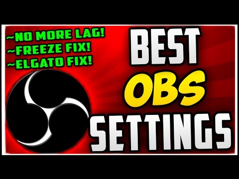 How To Make OBS NOT LAG When Recording & Streaming (Best OBS Recording Settings 2017 & Streaming!)